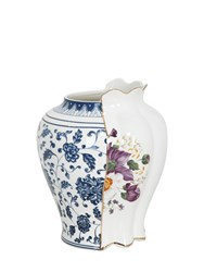 Seletti Hybrid Melania Bone China Vase Multicolor