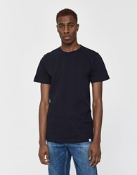 Norse Projects S S Niels Standard Tee In Dark Navy