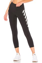 Vimmia Bumble Panel Crop Legging Black And White