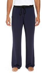 Daniel Buchler Men's Modal And Silk Lounge Pants Ink