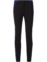 Viktor And Rolf Striped Side Detail Trousers Black