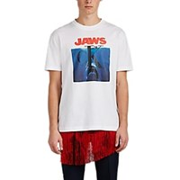 Calvin Klein 205W39nyc Jaws Logo Graphic Cotton T Shirt White