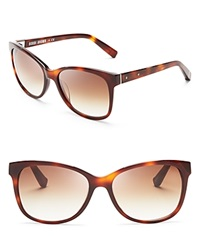Bobbi Brown Rose Wayfarer Sunglasses Blonde Havana