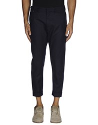 Mauro Grifoni Trousers 3 4 Length Trousers Men Steel Grey