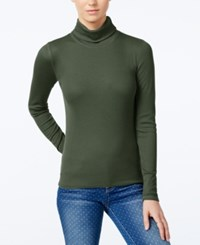 Planet Gold Juniors' Pullover Turtleneck Top Kalamata