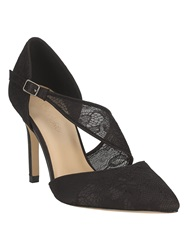 Phase Eight Remi Lace Point Court Shoes Black