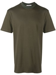 Low Brand Round Neck T Shirt Green