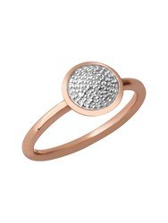 Links Of London Diamond Essentials Pave Round Ring Silver