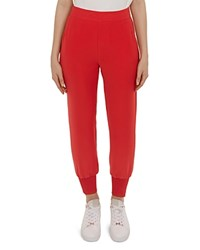 Ted Baker Neena Crepe Jogger Pants Bright Red
