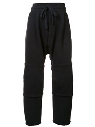 Osklen Oversized Jogging Sweatpants Black