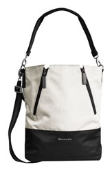 Sherpani Devyn Bucket Bag White Birch