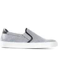 National Standard Graphic Print Slip On Sneakers