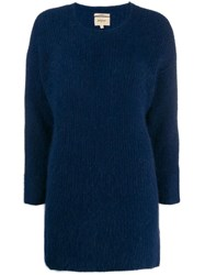 Bellerose Knitted Jumper Blue