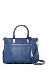 Vince Camuto Rina Leather Satchel Blue