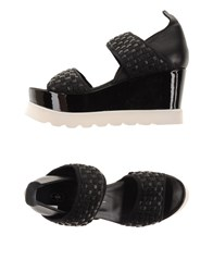 Bb Washed By Bruno Bordese Footwear Sandals Women Black