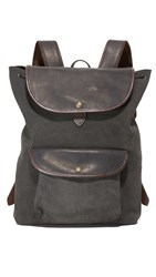 Filson Rugged Suede Backpack Smoke