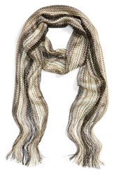 Collection Xiix Women's Havana Waves Slimmy Scarf Neutral