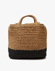 Equator Tote In Two Tone Two Tone