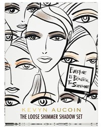 Kevyn Aucoin Limited Edition The Loose Shimmer Shadow Set 98 Value
