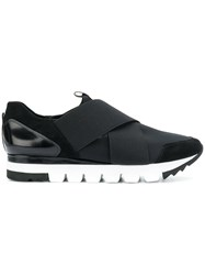 Kennel Schmenger And Cross Strap Sneakers Black
