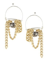 First People First Earrings Gold