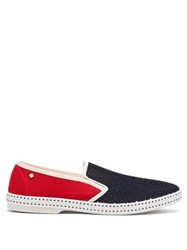 Rivieras Tour Du Monde Canvas Loafers Blue Multi
