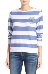 Wildfox Couture Women's Wildfox 'Baggy Beach Jumper Yacht Club' Stripe Pullover