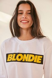 Urban Outfitters Blondie Long Sleeve Tee White