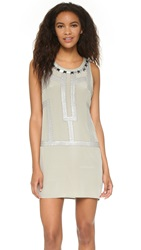 Ramy Brook Demi Dress Winter Silver