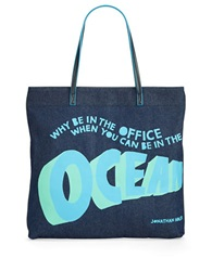 Jonathan Adler Why Be Tote Carribean