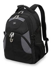 Wenger Black And Grey Laptop Backpack Black
