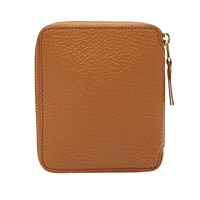 Comme Des Garcons Sa2100 Colour Inside Wallet Brown
