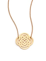 Ginette_Ny 18K Rose Gold Baby Purity Pendant Necklace