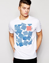 Jack Wills T Shirt With Pop Art Print White