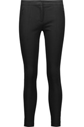 Michael Kors Collection Stretch Twill Skinny Pants Black