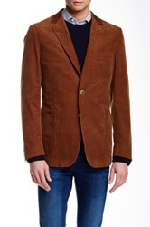 Gant The Duster Two Button Notch Lapel Blazer Brown