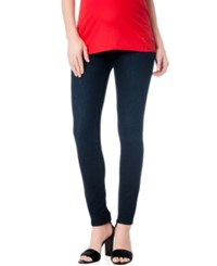 Motherhood Maternity Petite Stretch Skinny Jeans Rinse Wash