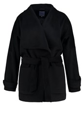 Anna Field Curvy Short Coat Black