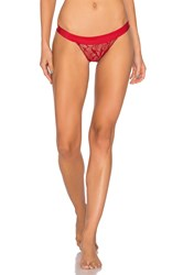 Commando Love Lust G String Red