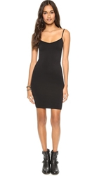 Free People Seamless Mini Slip Black