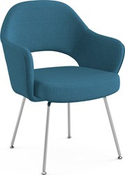 Knoll Saarinen Executive Arm Chair With Tubular Legs