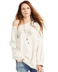 Denim And Supply Ralph Lauren Oversized Graphic Sweatshirt