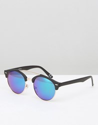 Jeepers Peepers Retro Sunglasses Black