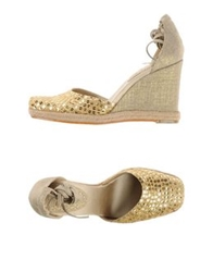 Nine West Espadrilles Platinum