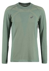 Asics Long Sleeved Top Eucalyptus Green