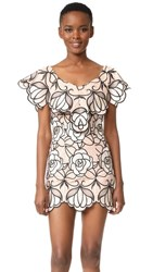 Alice Mccall Ms Rose Mini Dress Ballet Floral