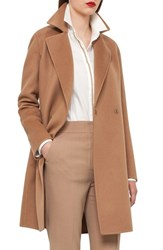 Akris Women's Reversible Double Face Cashmere Coat
