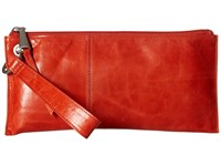 Hobo Vida Grenadine Clutch Handbags Red