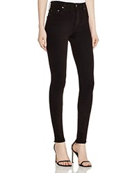 Nobody Cult High Rise Skinny Jeans In Black