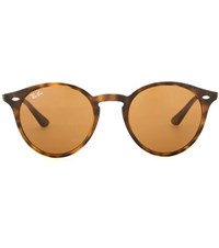 Ray Ban Rb2180 Round Sunglasses Brown